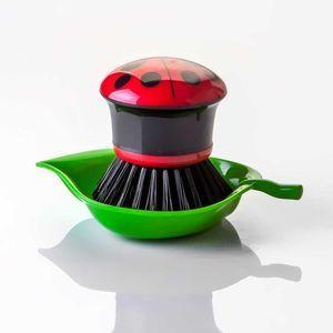 Escova de Lavar Louça - Joaninha