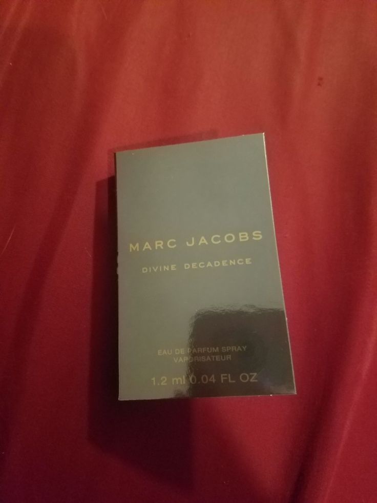 Marc Jacobs in Devine Decadence