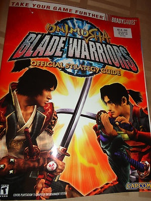 Bradygames New Onimusha Blade Warriors Video game strategy guide book find me at www.dandeepop.com