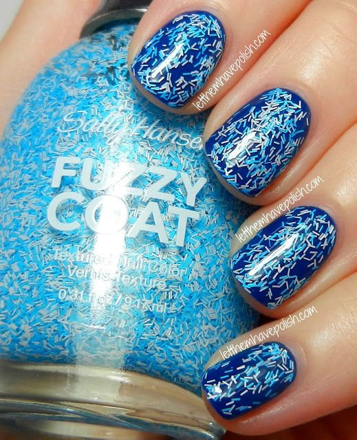 Sally Hansen Fuzzy Coat in Wool Knot | Nail Design ...