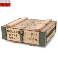 【V】【WIP03】実物ポーランド軍アンモボックスウッドメタルフレームメタルフレームがついたアンモボックス抜群の雰囲気を出しているBOXです。インテリアにも収納箱としてもお使い頂けます