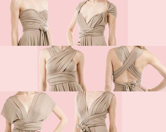 Casual Dresses - Infinity,Twist, Convertible Maternity Wrap Dress.LONG. 20 Styles in one dress!FREE boob tube&Buckles for sale in Plettenberg Bay (ID:191657660)