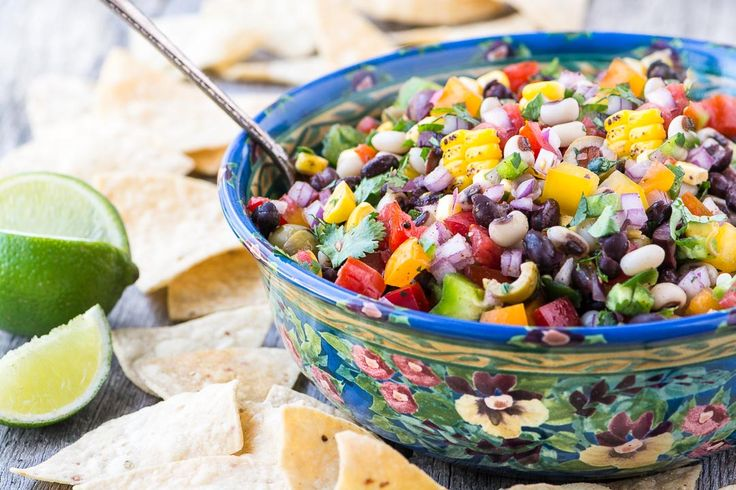 Cowboy Caviar ~ this cross between a salsa and a salad is a multi-tasker for barbecues and potlucks ~ think Cinco de Mayo, Memorial Day, and 4th of July!