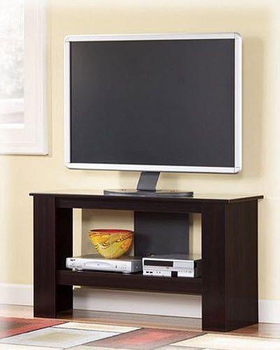 Thin TV stand