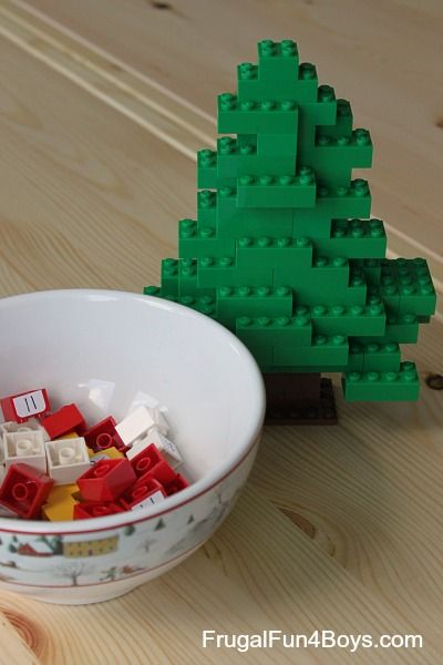 Count Down to Christmas with a DIY Lego Advent Calendar - Frugal Fun For Boys