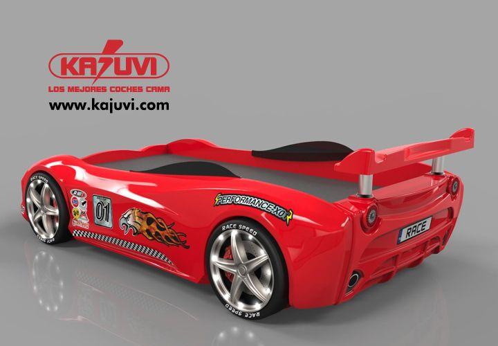 Coche cama modelo 911 www.kajuvi.com