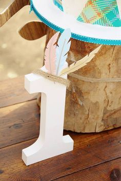 Pow Wow 1st Birthday Party via Kara's Party Ideas | The Place for ALL THNGS PARTY! KarasPartyIdeas.com (9)