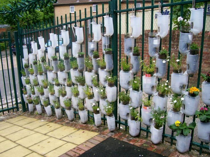 Plastic Bottle Wall Clever Recycling Ideas Plastic