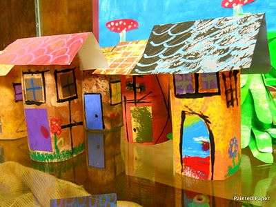 Houses and homes art ideas