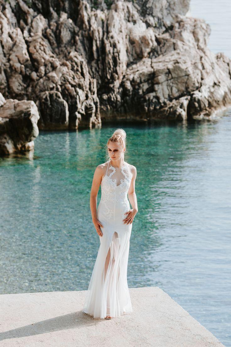 Calypso / Nora Sarman Bridal / photo Pinewood Weddings