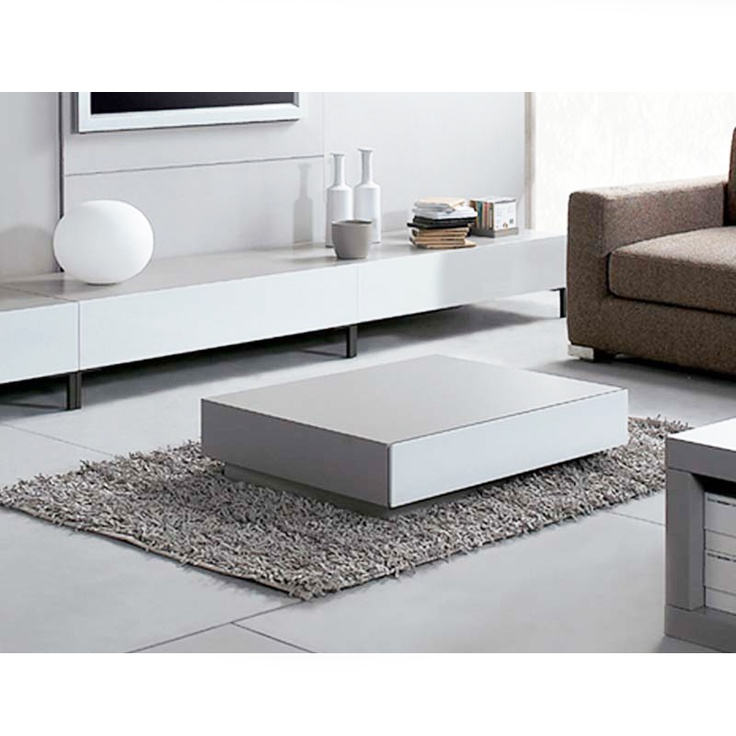 design coffee table in a modern living room design ideas onto designementcom - Mobilier Laque Contemporain Table Basse