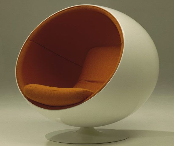 Adelta Ball Chair   Comfy For Reading!