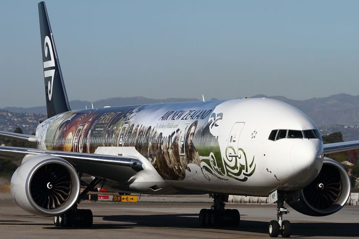 Air New Zealand unveiled it's all new Hobbit themed 777-300