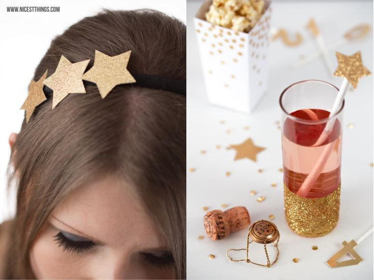 Nicest Things: New Year's Eve DIY Ideas, Silvester, Star Tiara Crown Headband