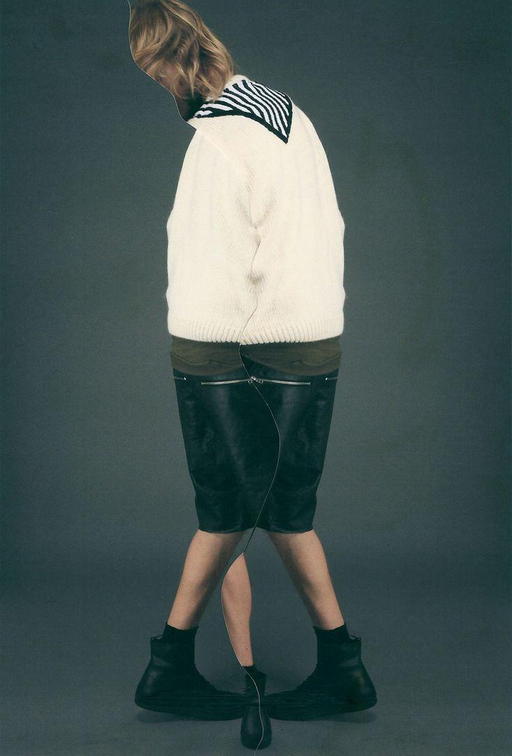 L'artiste Drax (Jesse Draxler)  a livré une série de visuelle  pour la marque de fringue New-yorkaise OAK.