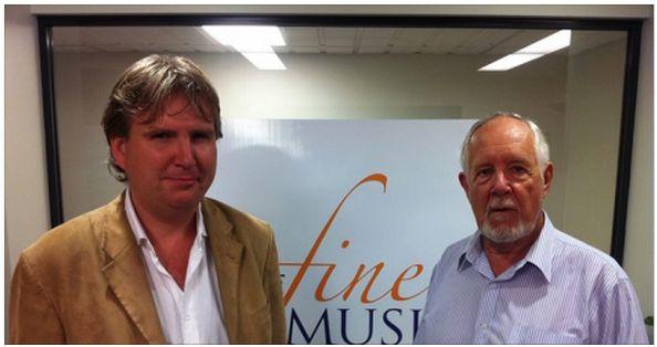 Antony Pitts and Michael Morton-Evans, Sept 2015