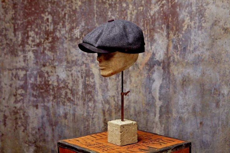Details about Charlie Eight Panel Newspaper Boy Bakerboy Tweed Wool Cap