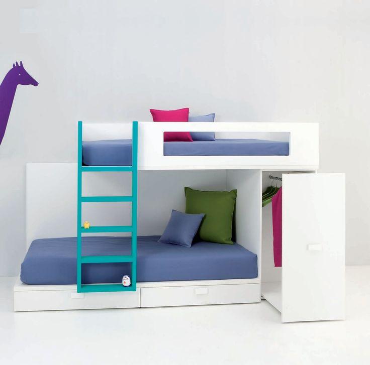 Dormitorios juveniles| Habitaciones infantiles y mueble juvenil Madrid: LITERAS JUVENILES E INFANTILES Y CAMAS TREN PARA NIÑOS