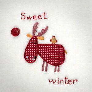 ¿preparados para el invierno? con la Manta Petits Piccola 083 reno sweet winterMora Fucsia el invierno será menos frío. Disponible en varios colores.