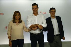 En DECDLT comentamos la victoria de Pedro Sánchez en las primarias del PSOE frente a Susana Díaz.