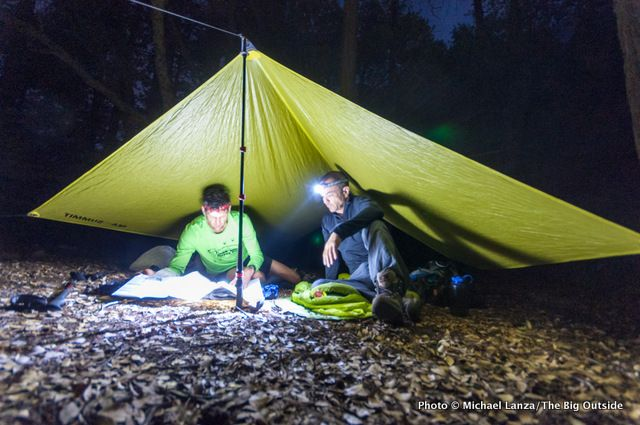 The Big Outside Review I Backpacking Gear l Sea to Summit Escapist Tarp l seatosummit.com