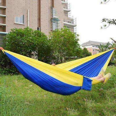 260 x 140cm Hamac portable en nylon de parachute pour deux personnes Amant Famille Camping en plein air - Achat / Vente hamac 260 x 140cm Hamac portable - Cdiscount