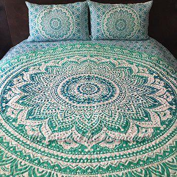 Oceana Ombre Mandala Quilt