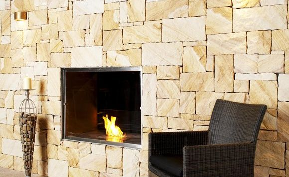 Sandstone for around garage - Eco Outdoor - Walling - Random Ashlar - Killcare