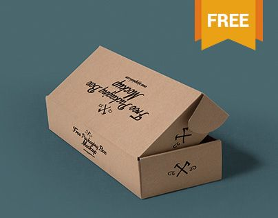 Essential free packaging box mockups that give you an exact idea on how your packaging designs will look before going through the printing shop or the manufacturing process.