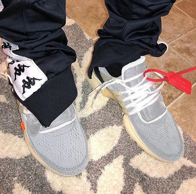 Off White x Nike Air Presto V2 EARLY Sample </p>                     </div> <!--bof Product URL --> <!--eof Product URL --> <!--bof Quantity Discounts table --> <!--eof Quantity Discounts table --> </div> </dd> <dt class=