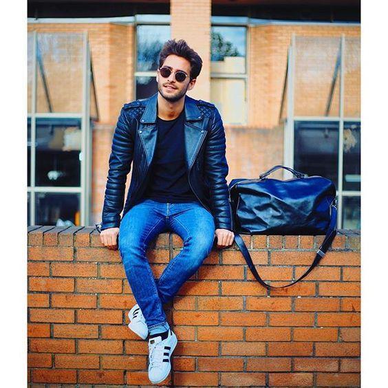 Un beau perfecto pour relevé un look casual #look #homme #mode #fashion #fashionformen #men