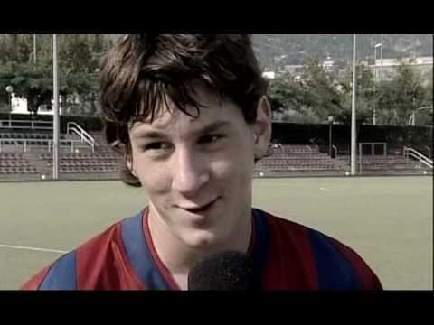La Historia de Lionel Messi [1/2] FC Barcelona TV Catalan