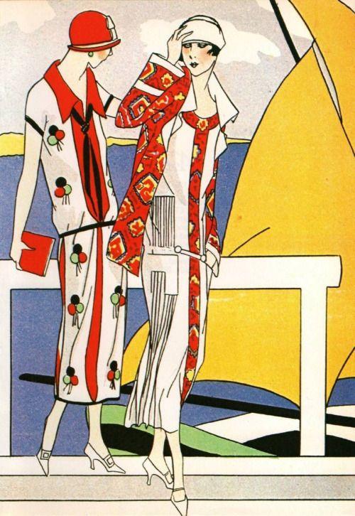 artdeco.quenalbertini: Martial et Armand ensembles, 1924