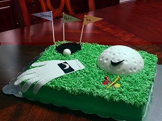 Golf Birthday Theme