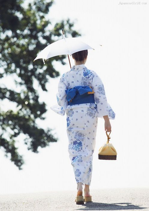 Japanese summer kimono - yukata