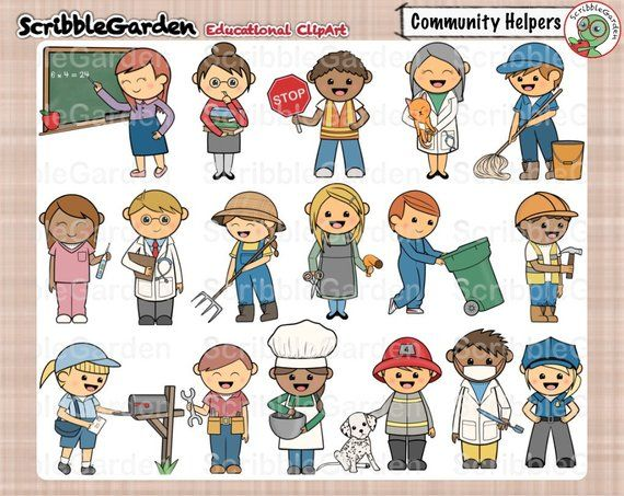 39++ Community helpers border clipart information