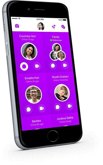 Messenger Kids on iPhone Chat app, Dating simulator