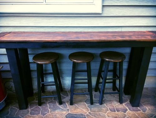 Outdoor bar. Possible for the balcony?