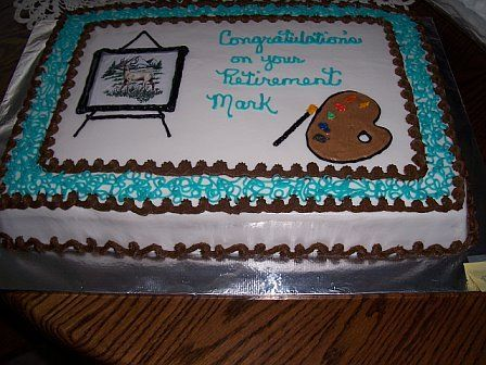 Images Retirement Cakes