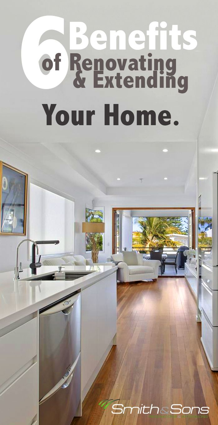 6 Benefits of Renovating & Extending your home! <3 If you're hiring professional renovators or doing DIY renovations - listen in! www.smith-sons.com.au