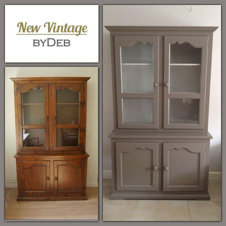 Buffetkast in chique klei kleur #New Vintage  #NewVintage byDeb #Debby Rijvers