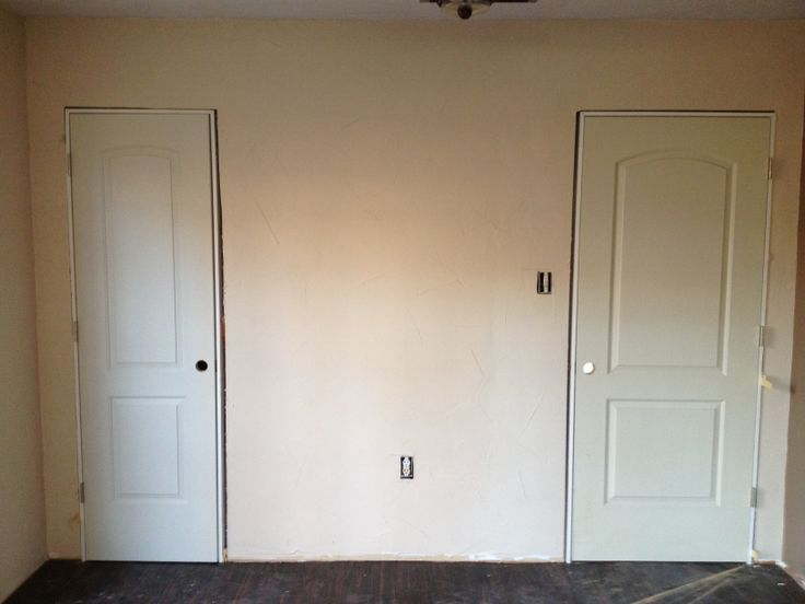 master bedroom and closet