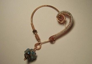 Tutorial for Wire Wrapped Heart Fibula.. $11.00, via Etsy.