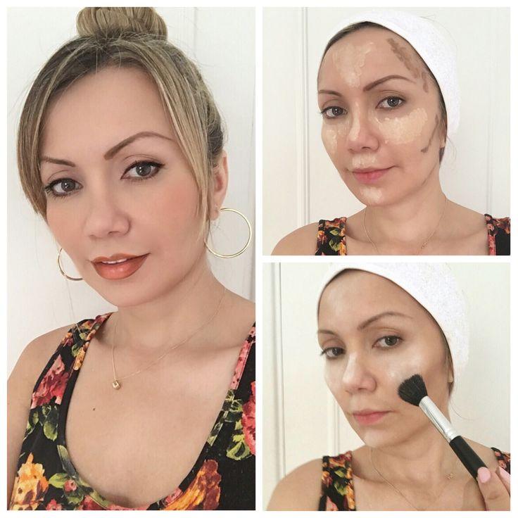 Maquillaje en tonos naranja y marrón. No soy partidaria de los lentes de contacto y las pestañas postizas para los tutoriales de maquillaje si no es un maquillaje para la noche o algo que lo requiera. Prefiero en mis tutoriales enseñarles a que saquen partido de lo que tiene cada una. Pilar Castro especialista en imagen.