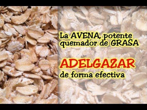 AVENA QUEMADOR DE GRASAS - YouTube