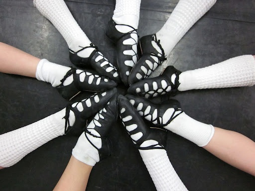 Driscoll needs to do this! Except for the fact that most people only wear poodle socks at feis...
