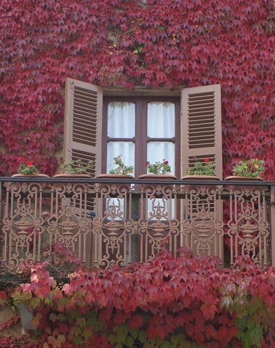 Italian window, Bossolasco Province of Cuneo, Italy Piemonte