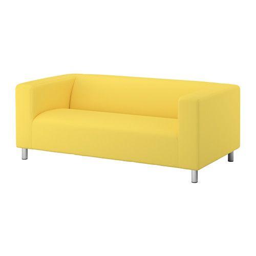 KLIPPAN Loveseat - Vissle yellow - IKEA