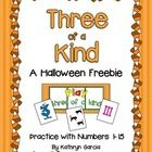 Here is a fun FREEBIE for you to play with your little ones.  There are 15 cards with numerals 1-15, 15 cards with Halloween pictures and 15 cards ...