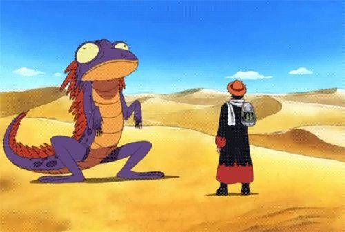 """Ça c'est bien son genre à ce Chapeau Paille """"xxDDD"""" ~ Capitaine : Luffy Monkey D. ł Navire : ⛵ Sunny Thousand ⛵ ~ ⚓️_Øne_Piece_⚓️ ~ [✨GiF✨]"""